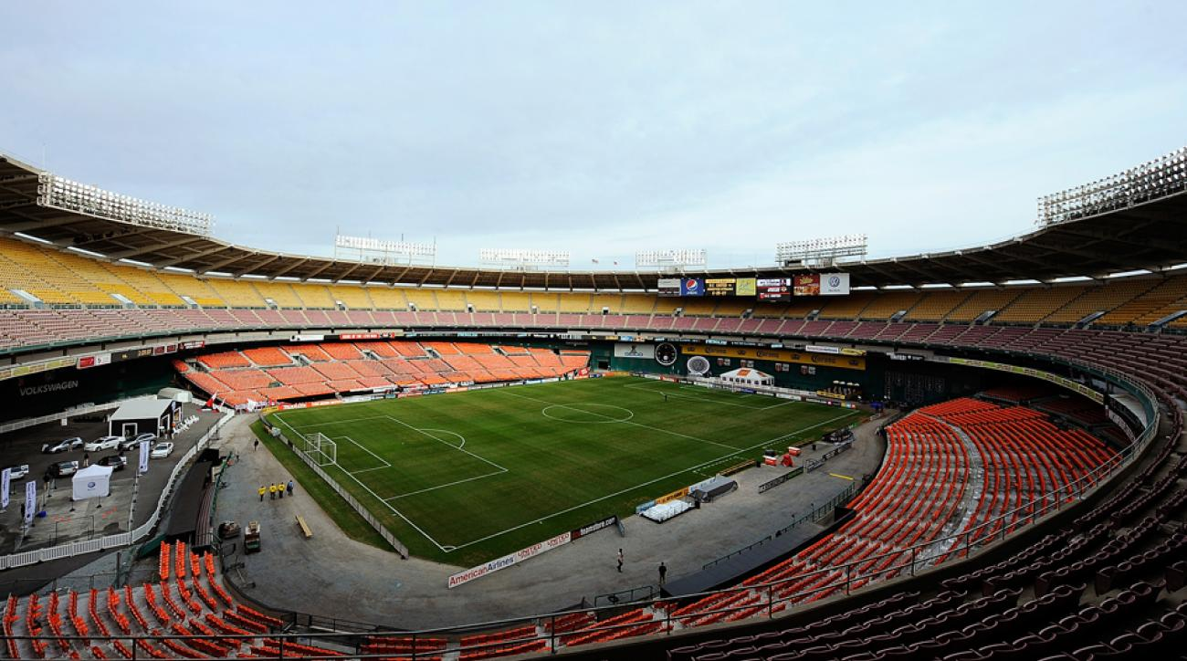 RFK Stadium is D.C. United's current home