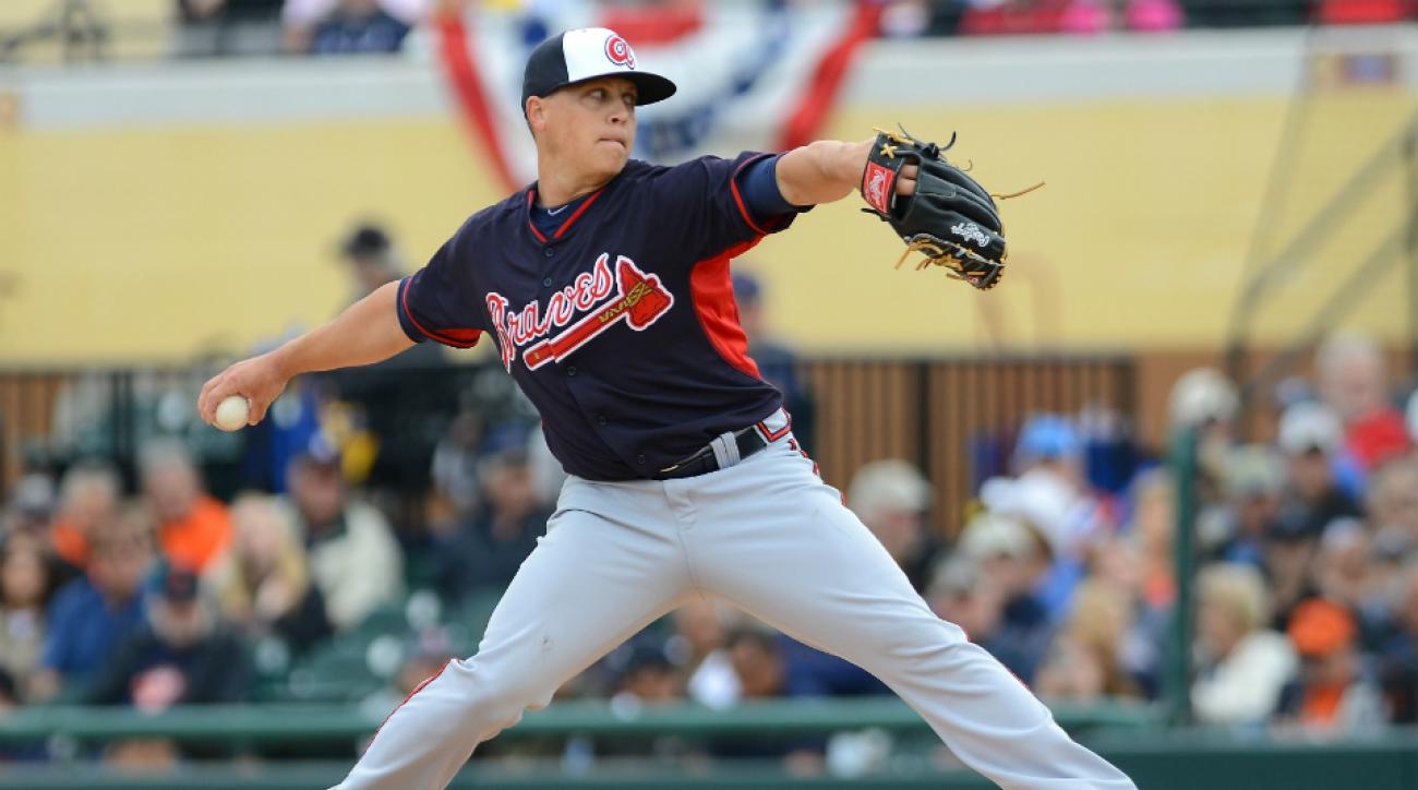 Medlen won 34 games in five seasons with the Braves.