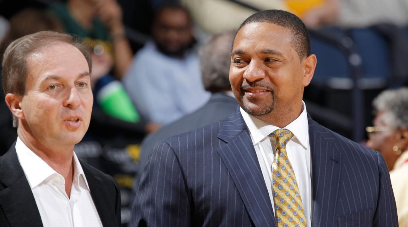 Joe Lacob (left) fired Mark Jackson (right) in May