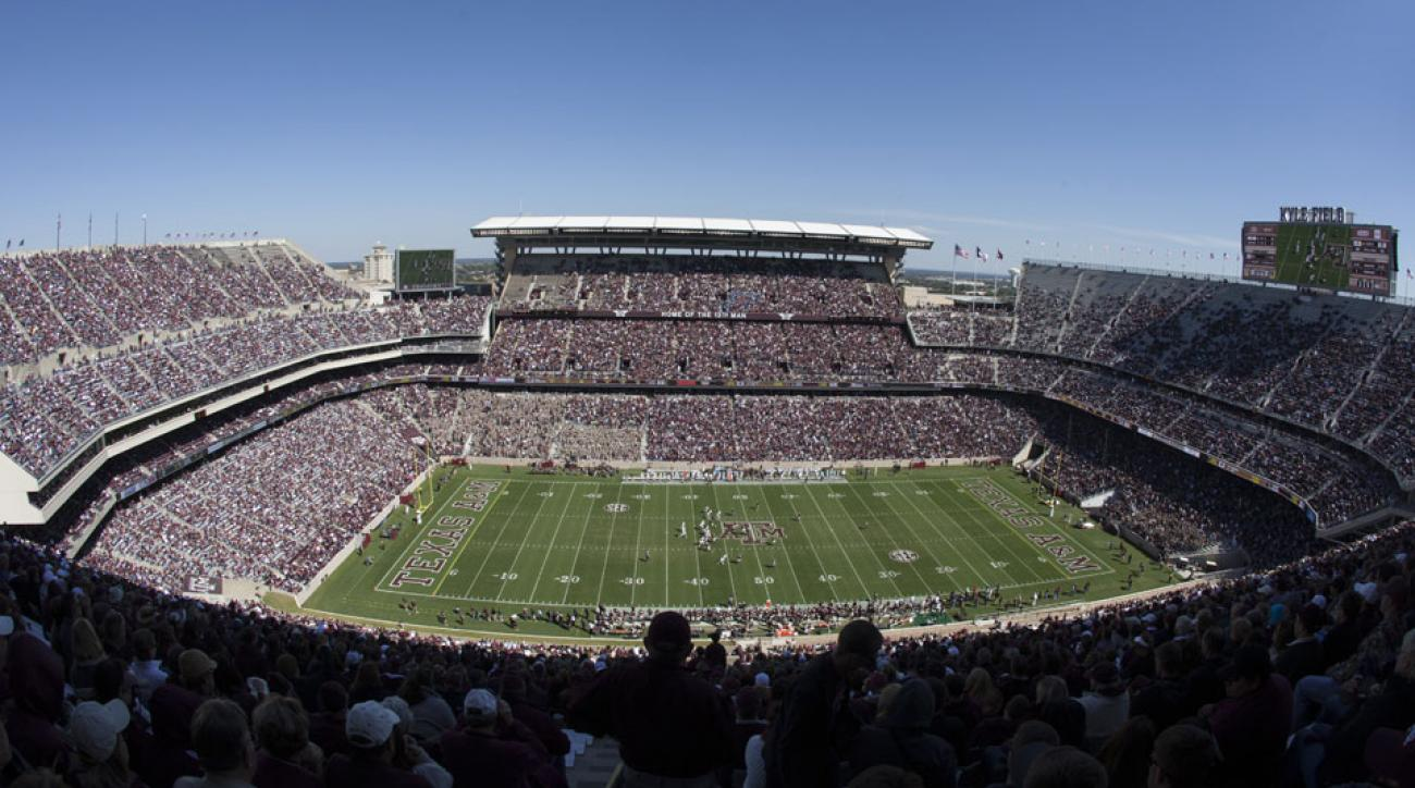 Texas A&M had the largest attendance increase among Power Five schools in 2014