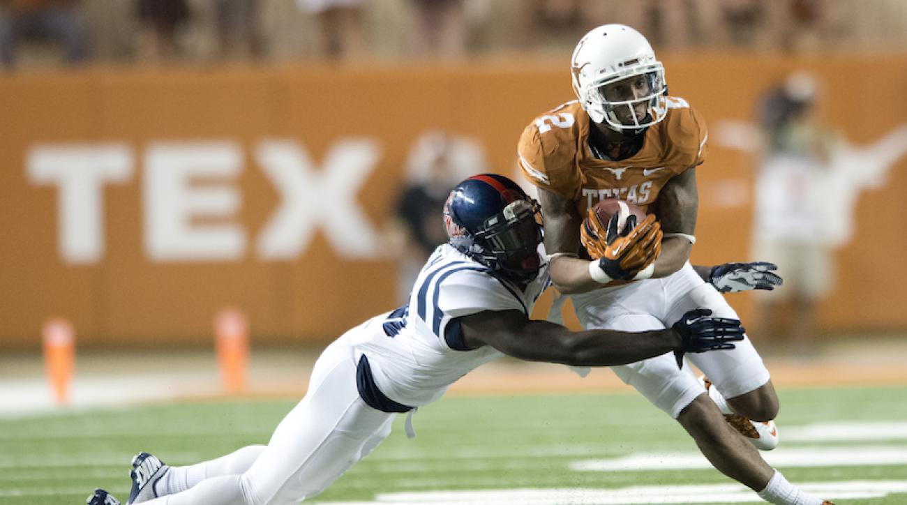 Former Texas wide receiver Kendall Sanders