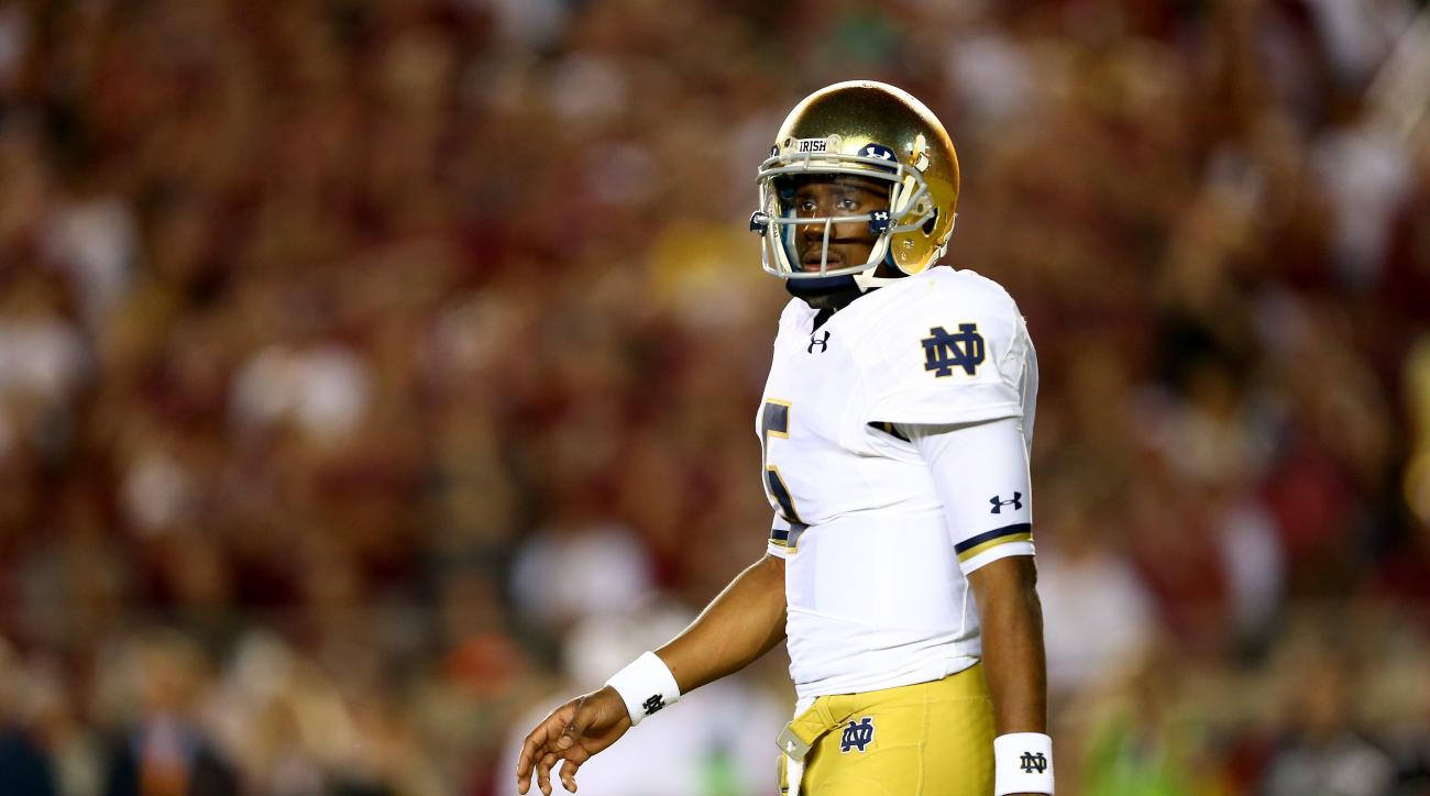 notre dame play by play football college bowl rankings