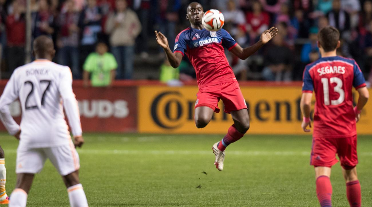Veteran center back Bakary Soumare heads to Montreal after being taken in the second phase of the MLS Re-Entry Draft.