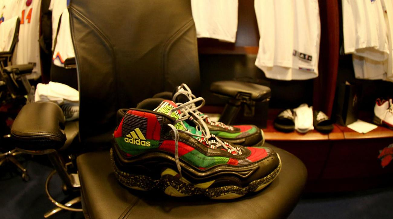 Players from around the NBA got into the holiday spirit with special Christmas edition kicks.