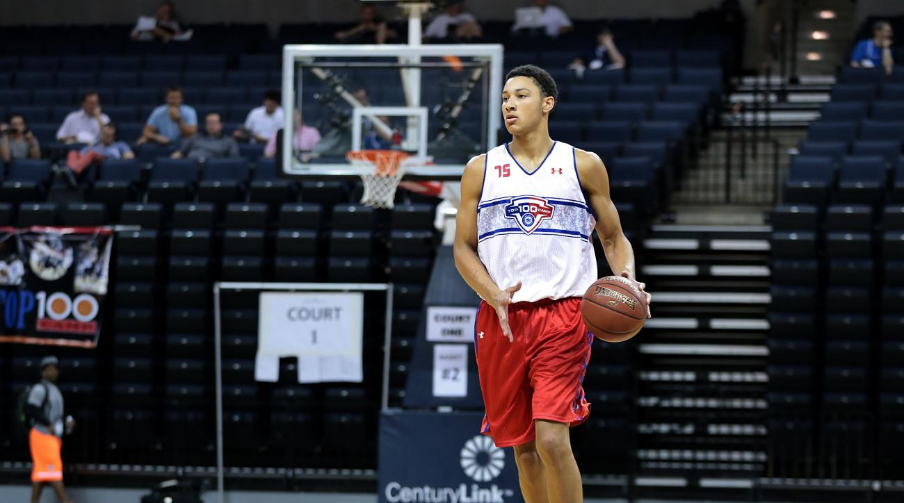 Top recruit Ben Simmons is among those chosen for the game.