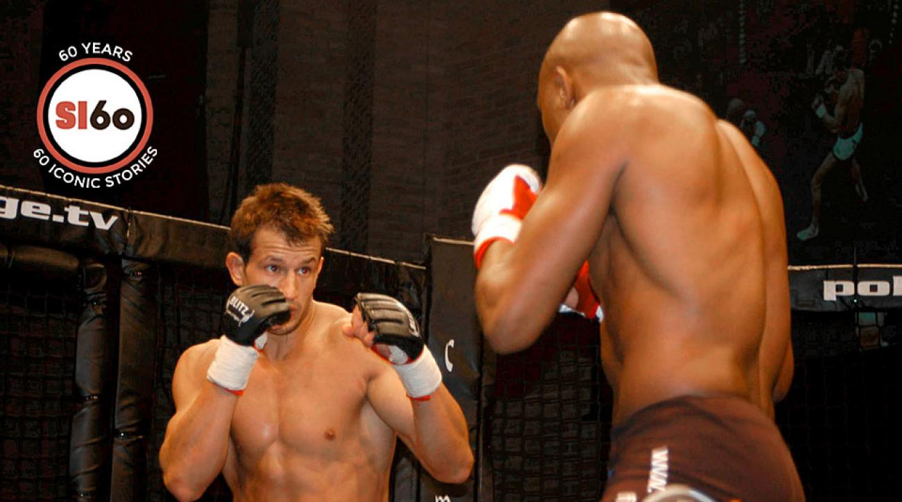 Lee Murray (left) beat Jorge Rivera on Jan. 31, 2004 in what proved to be his only UFC fight.