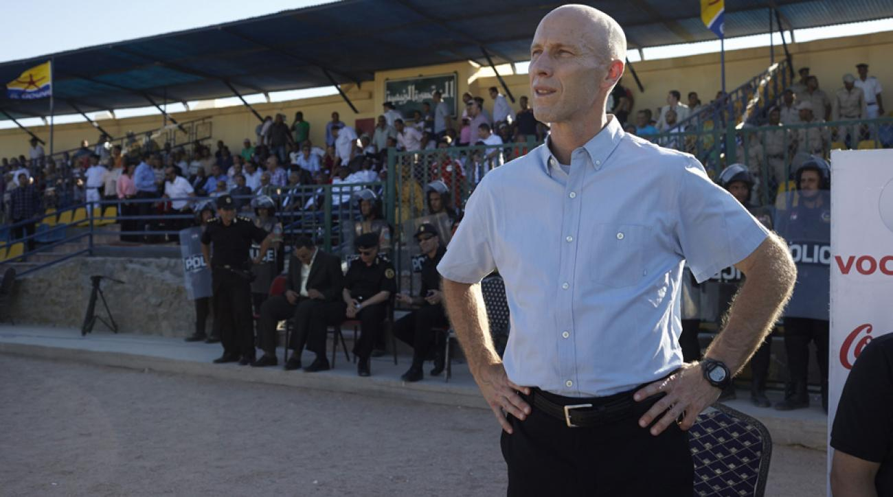 Former U.S. men's national team manager Bob Bradley coached the Egypt national team from 2011-2013.