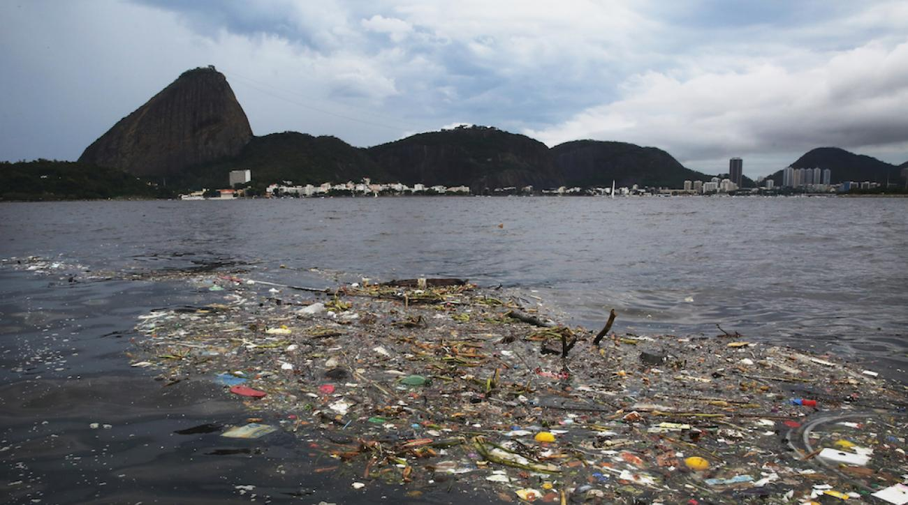 A Feb. 6 photo of the Guanabara Bay, which will host the sailing events for the 2016 Summer Olympics in Rio de Janeiro, Brazil.