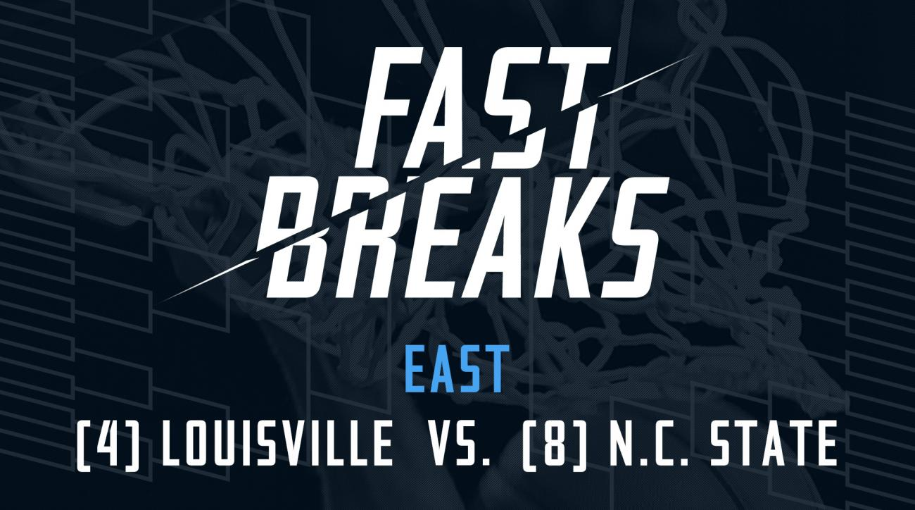 Fast Breaks: (4) Louisville vs. (8) NC State preview IMAGE