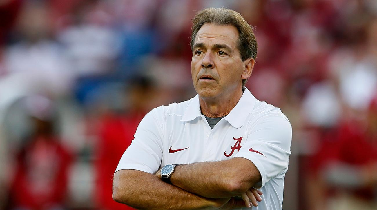 Saban on dismissed Taylor: Not sorry for opportunity