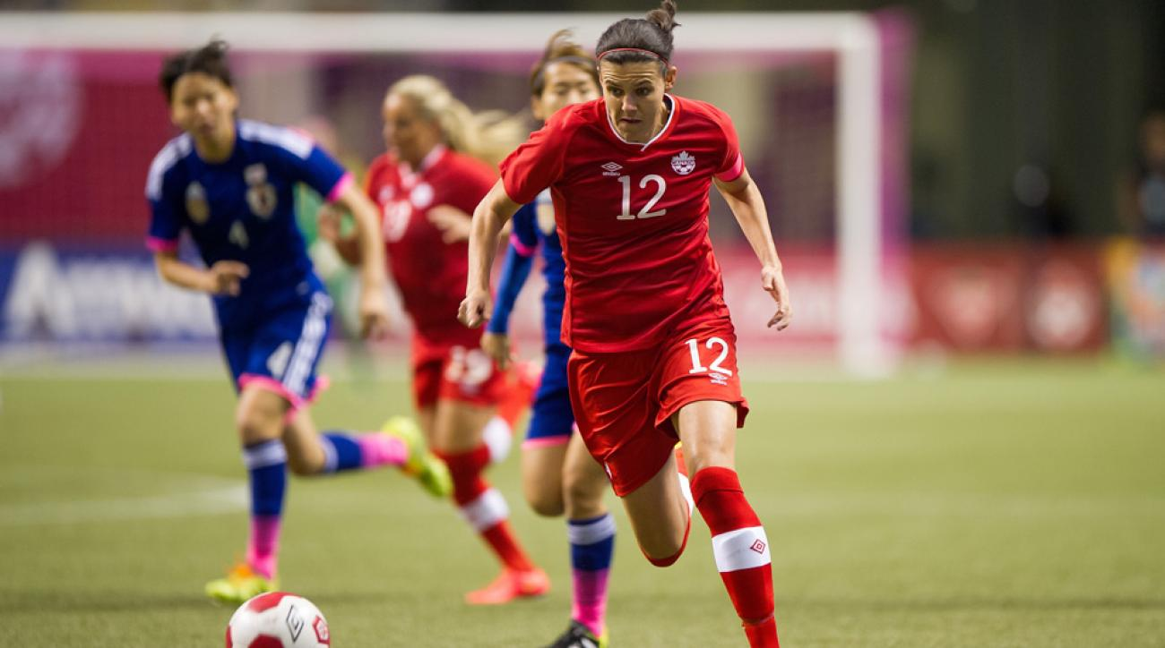 Christine Sinclair will be heading to her fourth World Cup with the Canadian national team.