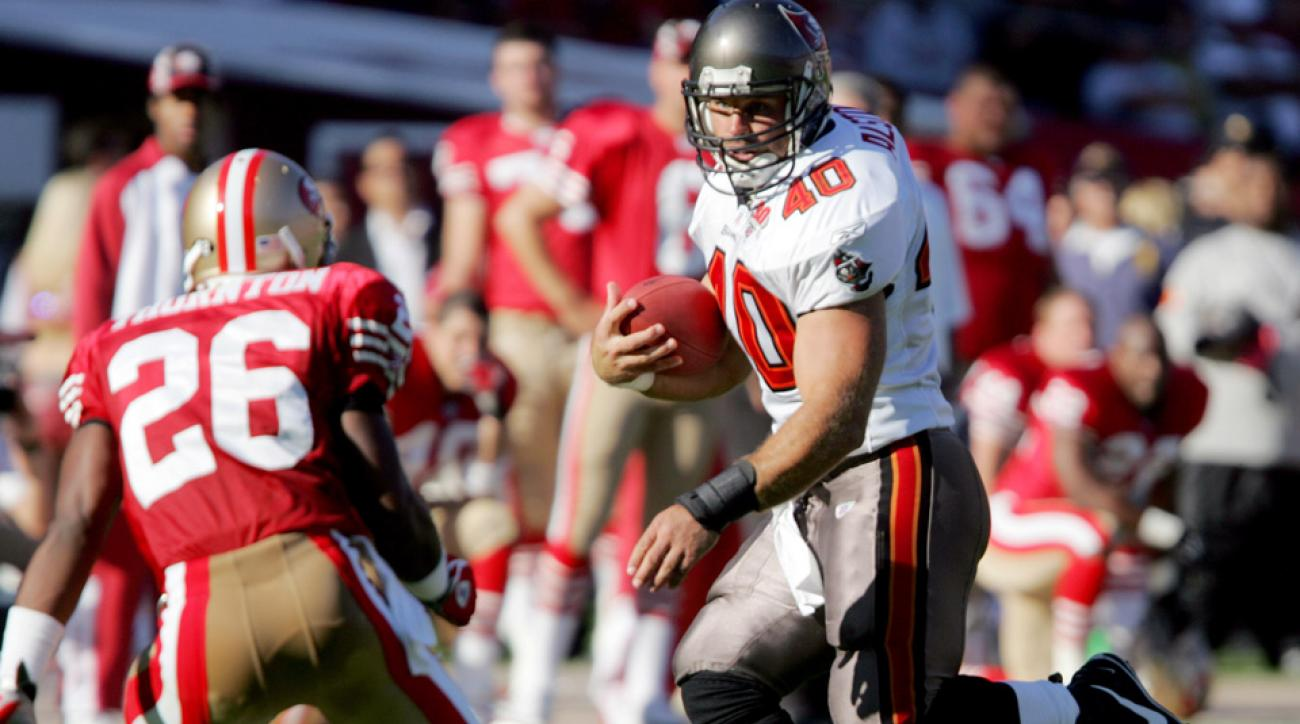 Mike Alstott was a six-time Pro Bowler and three-time first-team All-Pro.