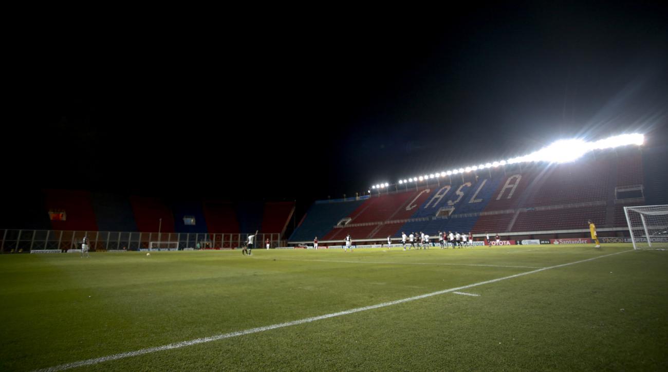 Pedro Bidegain Stadium will not host Saturday's San Lorenzo-Sarmiento match due to the suspension.