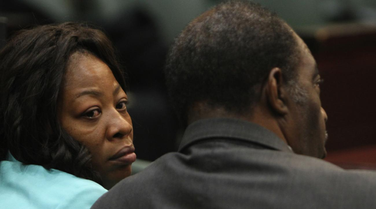 Ereck Plancher's parents at a 2011 trial