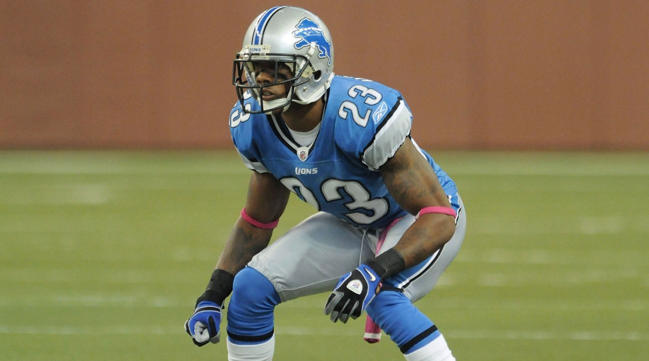 Houston last played for the Lions.