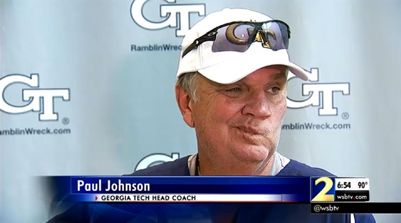 Georgia Tech football: Like Maroney, Paul Johnson not ...