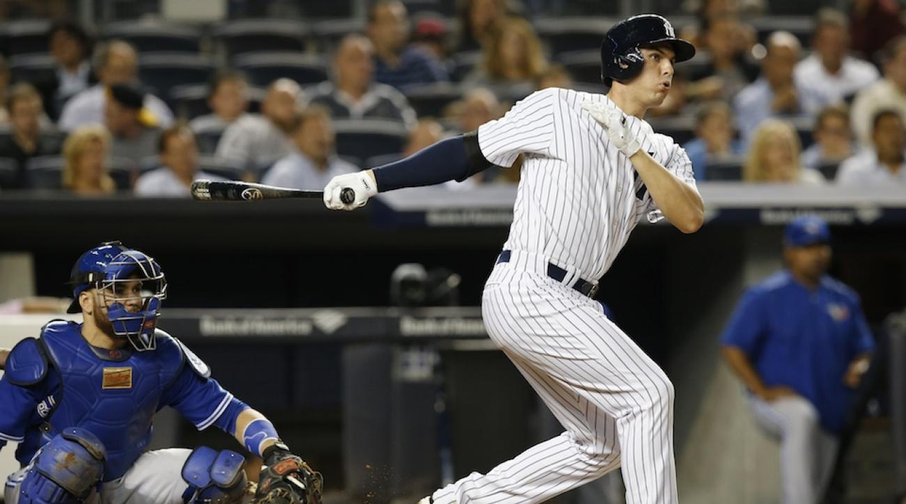 Rookie Greg Bird has put some pop back in the Yankee offense