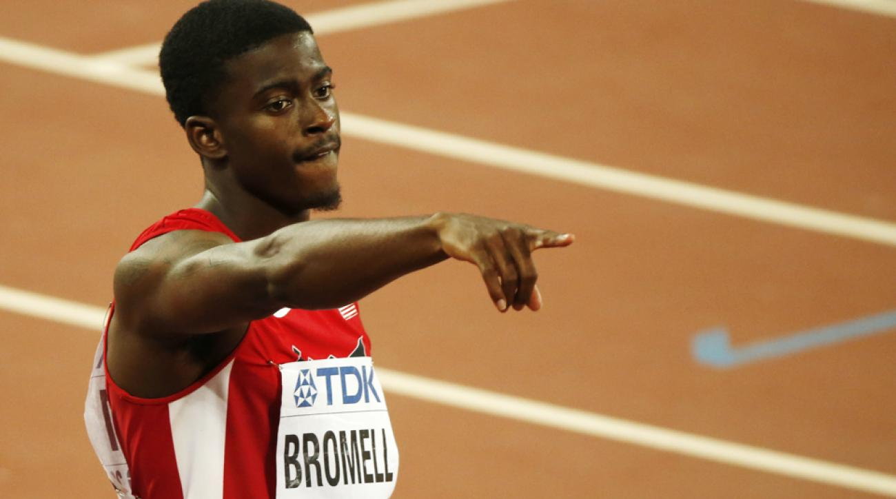 Trayvon Bromell New Balance signs world championship medalist – Athlete Sponsorship Contract