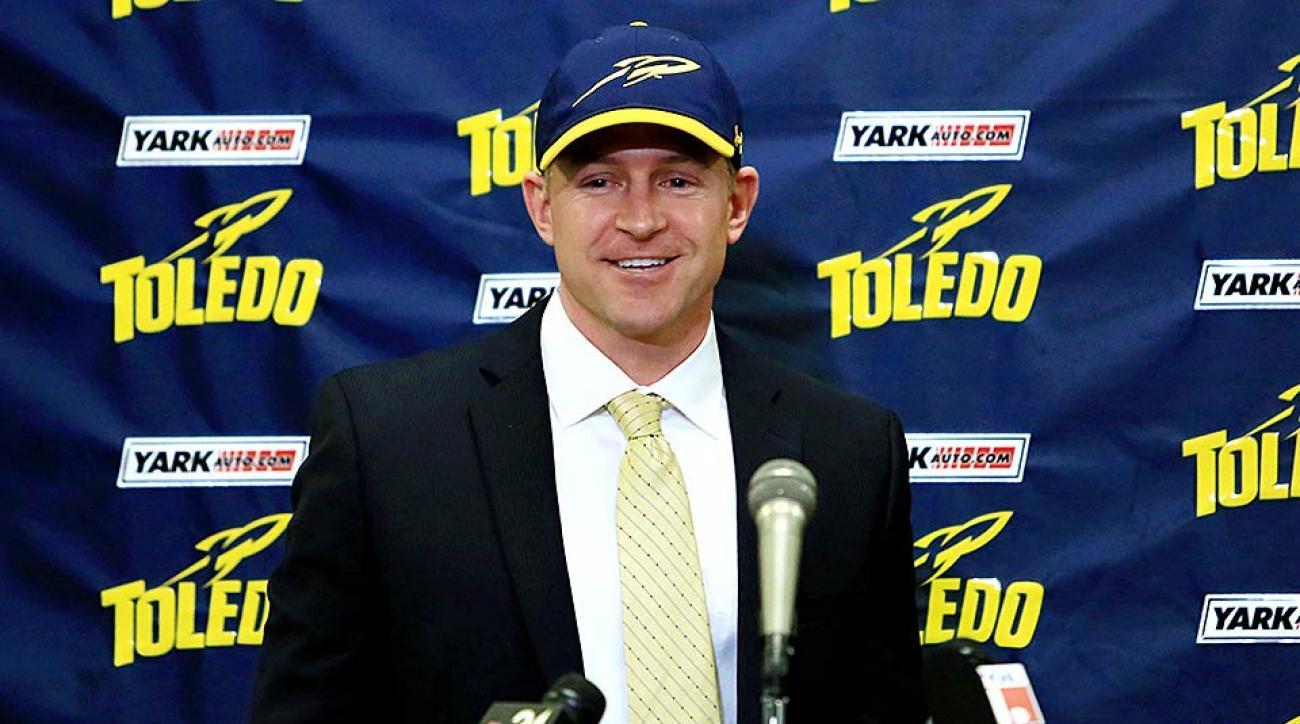 Toledo head coach Jason Candle