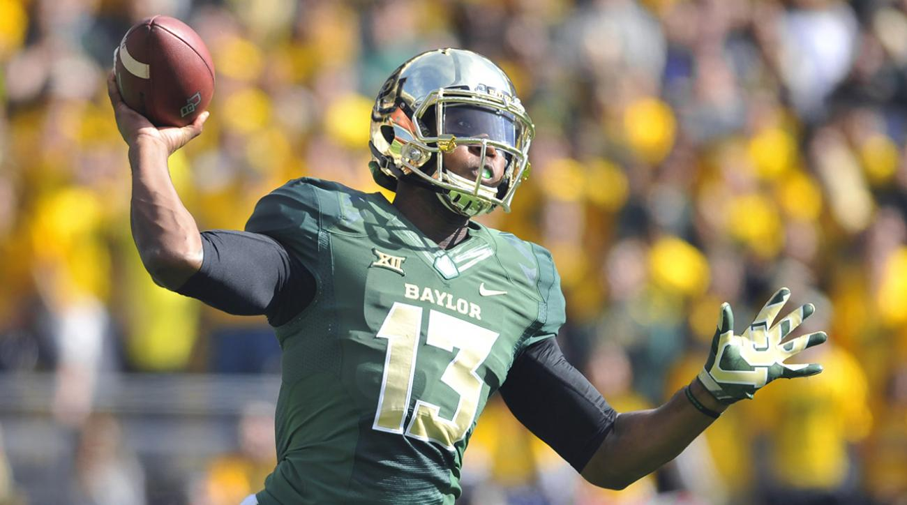 Baylor QB Chris Johnson to start Russell Athletic Bowl vs. UNC