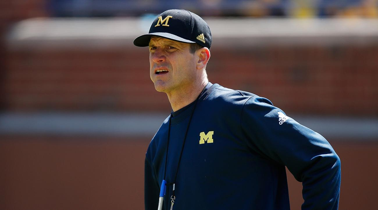 Jim Harbaugh tweets after 49ers fire Tomsula