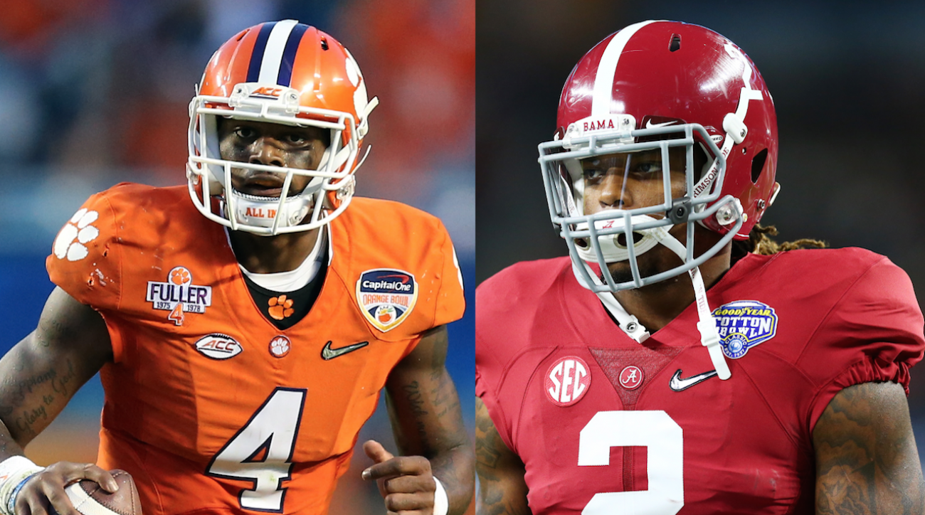Alabama Crimson Tide, clemson tigers, College football, National Championship, sports illustrated, clemson alabama, national championship predictions