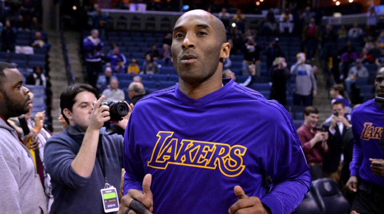 hgkrcp Los Angeles Lakers wear custom Kobe Bryant socks vs. Warriors | SI.com