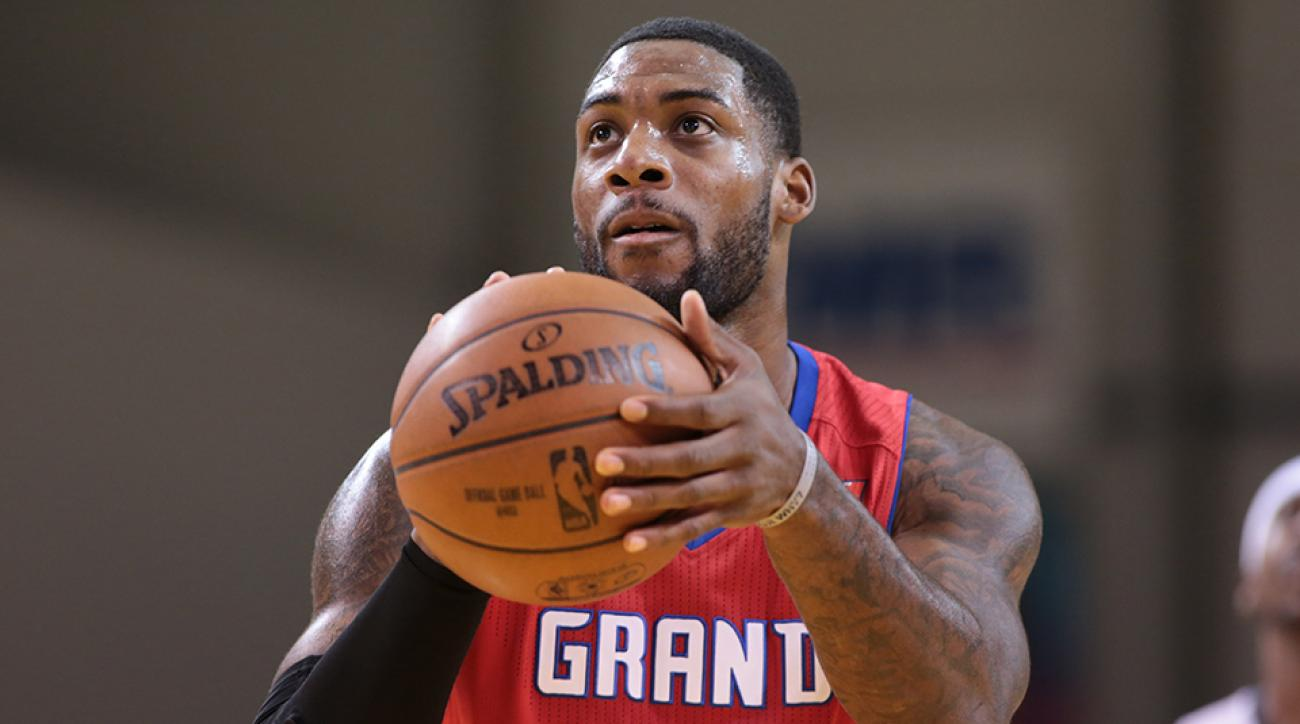 Branden Dawson has played for the Grand Rapids Drive in the NBA D-League this season.