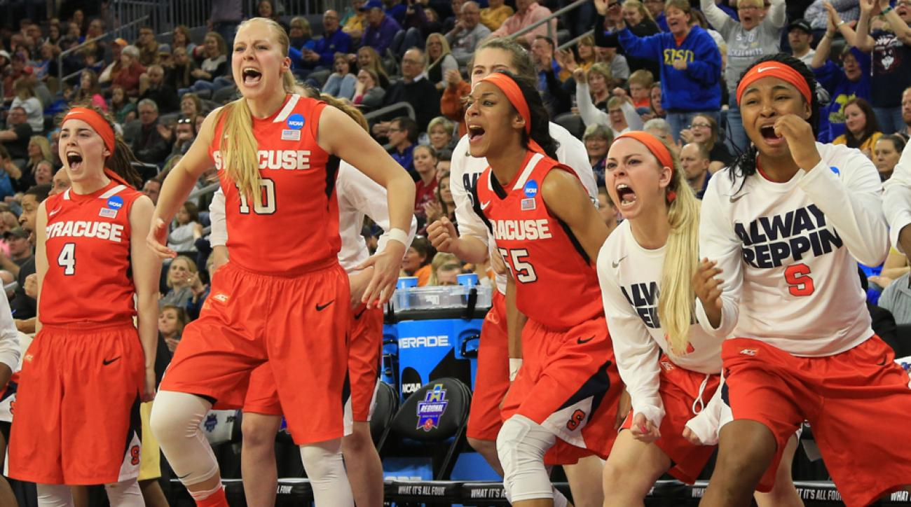 March Madness: Syracuse Upsets South Carolina In Women's