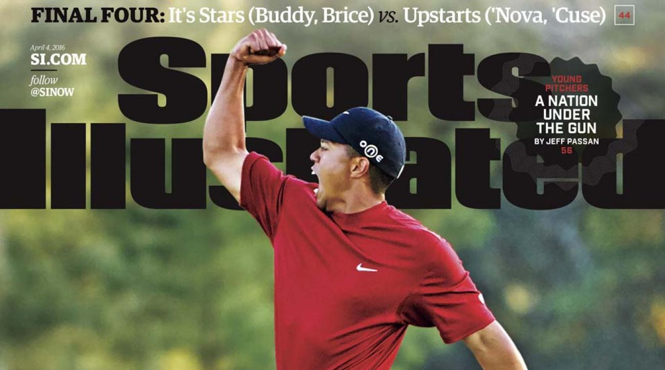 tiger woods sports illustrated cover story before masters