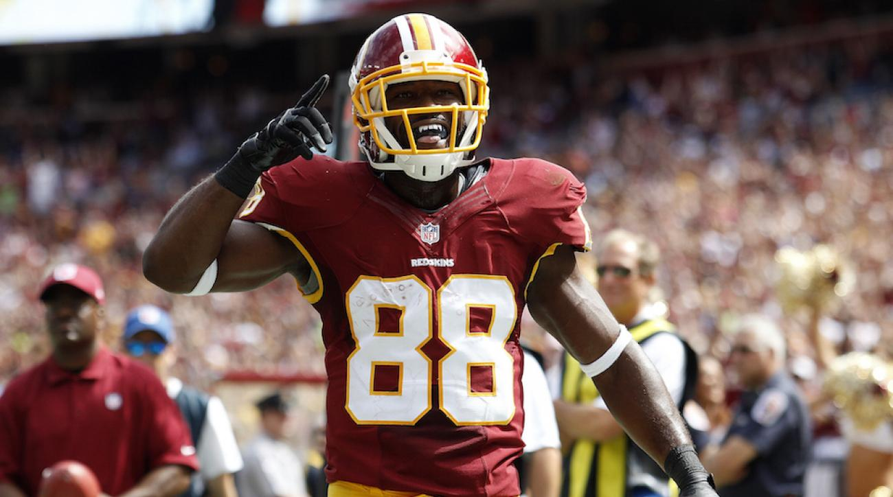 WR Pierre Garcon of the Washington Redskins played college football at Division III Mount Union