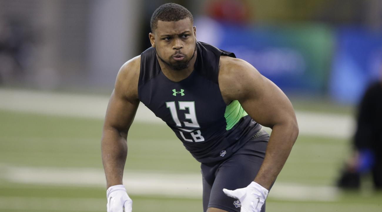 Nfl Draft Nick Perry Aces His Combine Workout