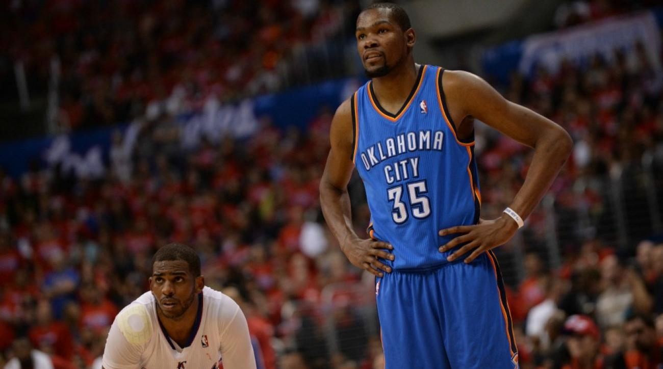 Thunder's Kevin Durant is owning up to his adjustable ...