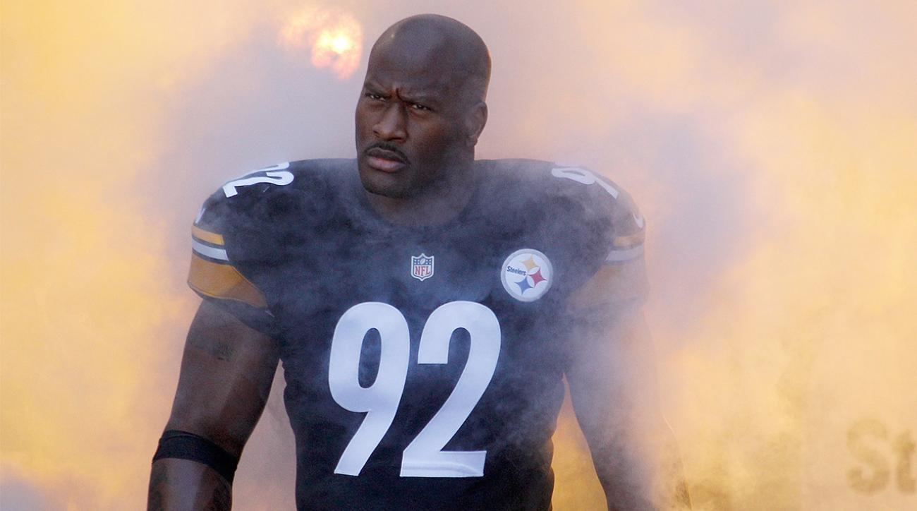 Steelers LB James Harrison: League wouldn't let me record drug test
