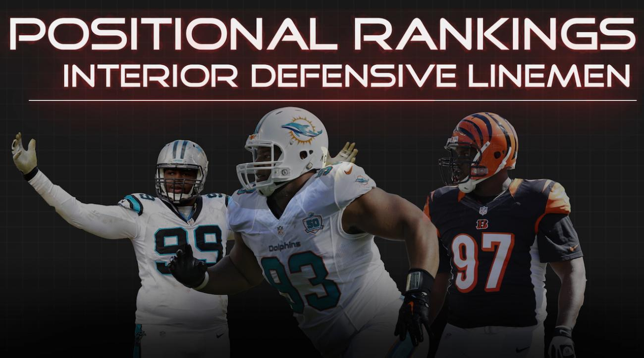 Positional Rankings: Interior defense linemen