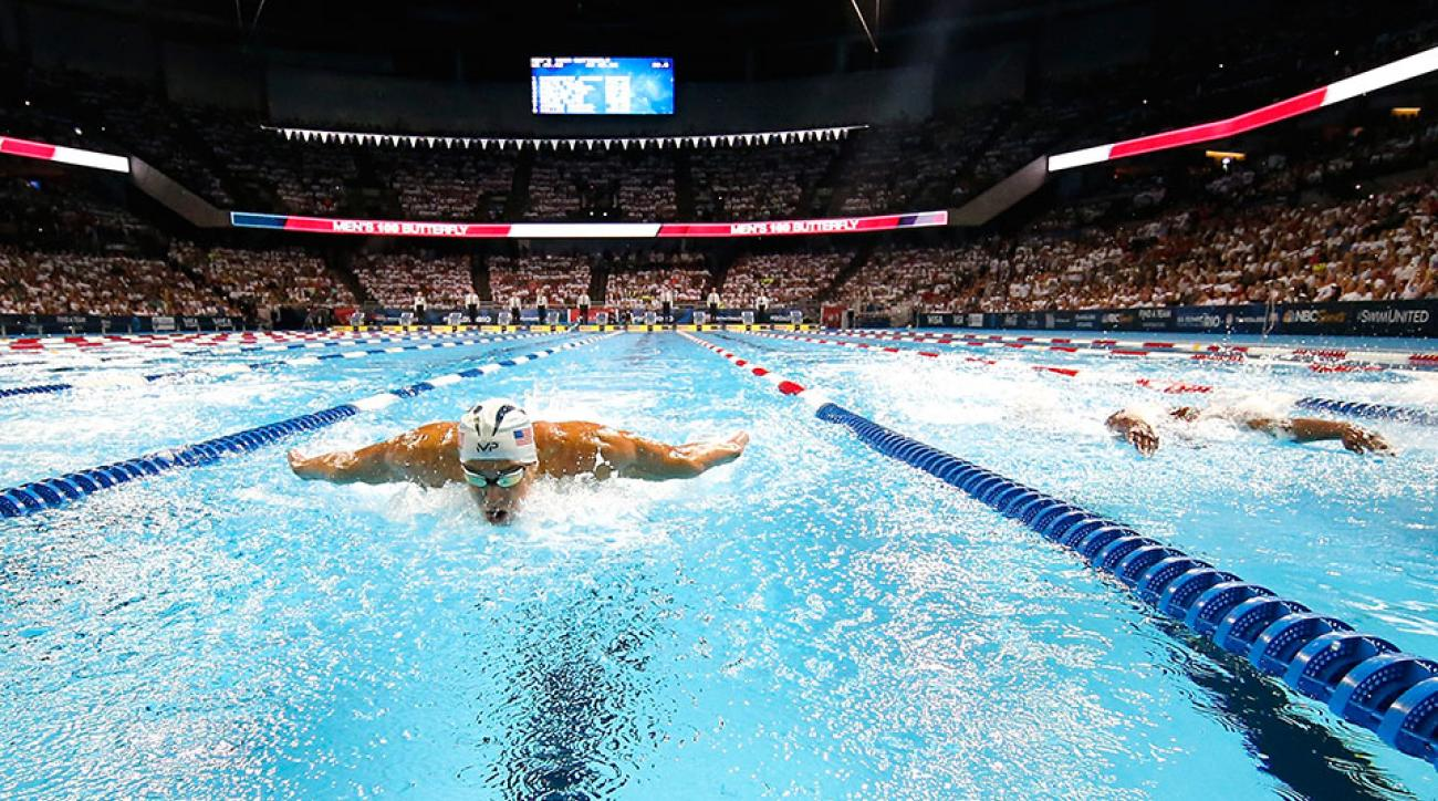 Michael Phelps Swimmer Adds To Win Total At Trials