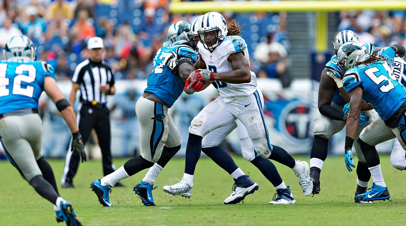 The Titans expect rookie running back Derrick Henry to have a big impact on offense.