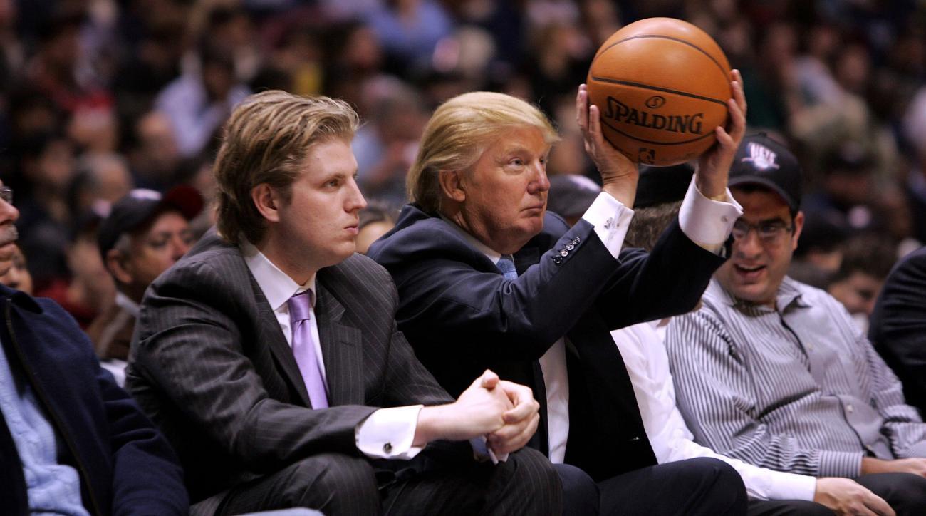 Donald Trump basketball