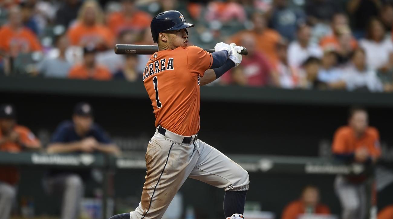Carlos Correa: Astros ...