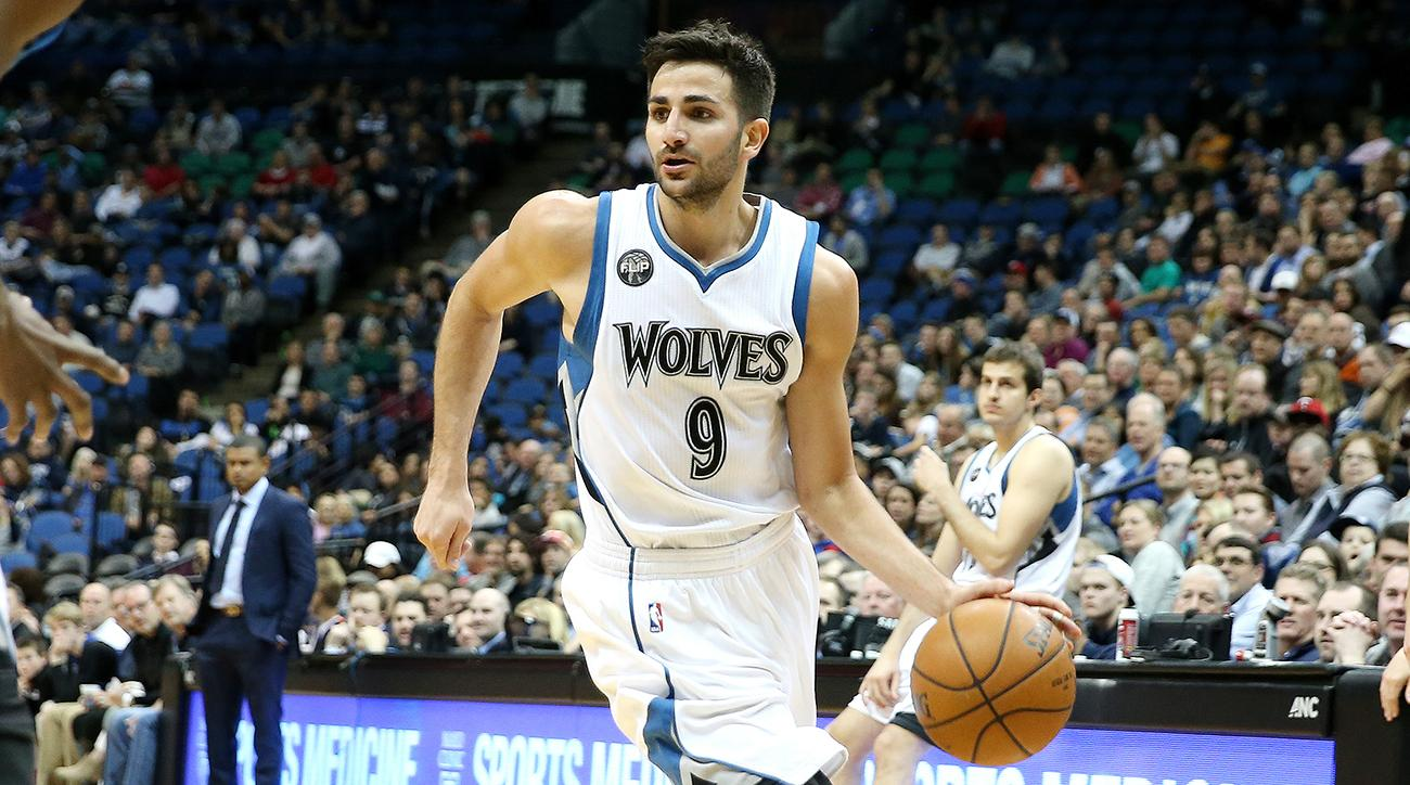 Ricky Rubio injury: Wolves G out with sprained elbow | SI.com