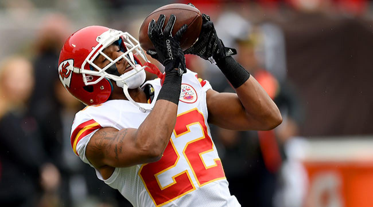 Kansas City Chiefs cornerback Marcus Peters.