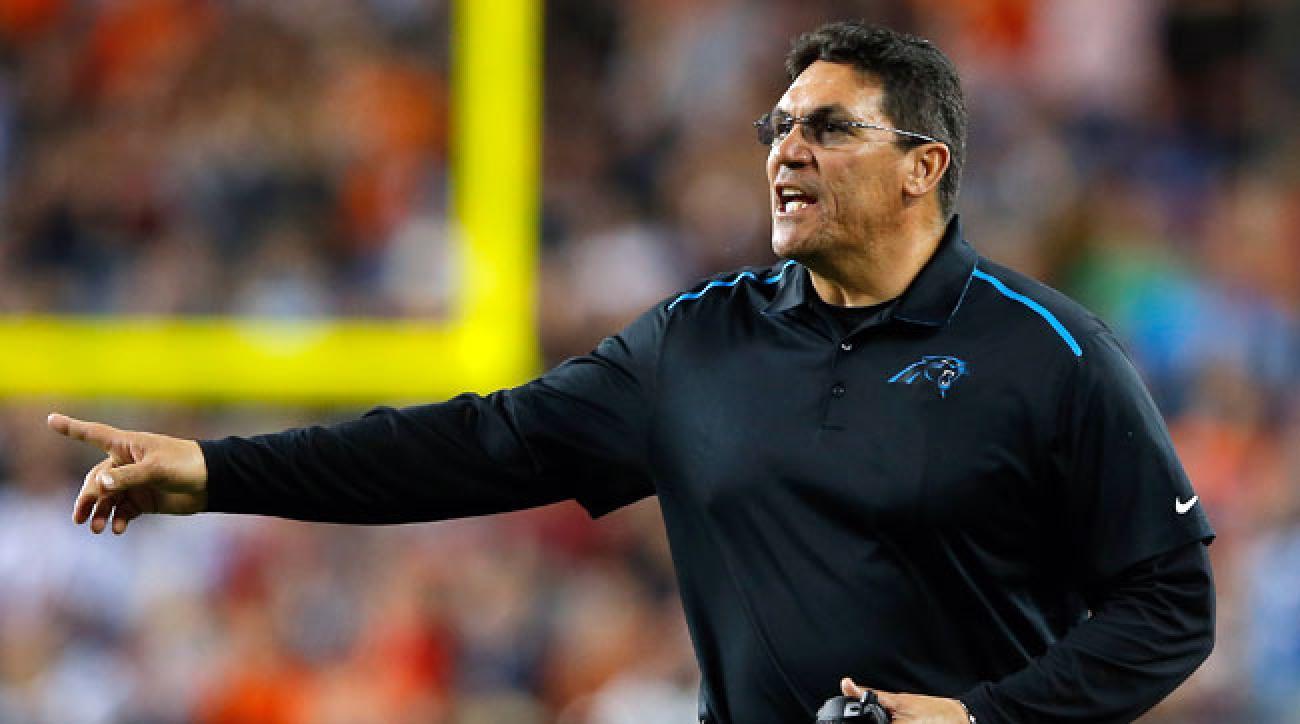 Carolina Panthers coach Ron Rivera.