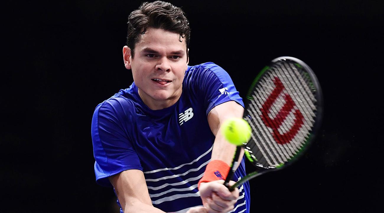 ATP Finals: Milos Raonic doubtful (torn right quad)   SI.com