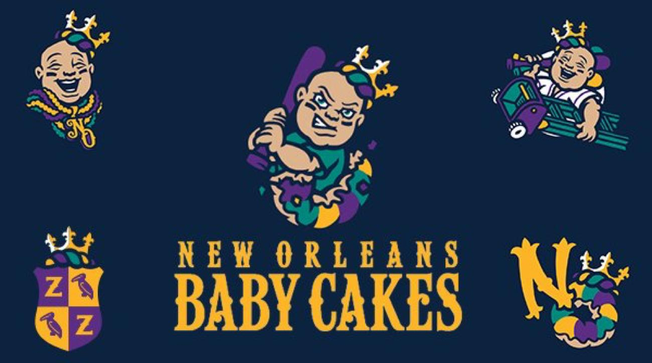 New Orleans Baby Cakes Mascot
