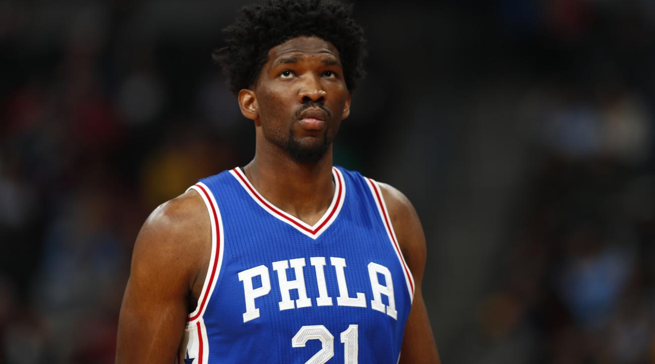 Sam Hinkie is voting for Joel Embiid for the All-Star Game