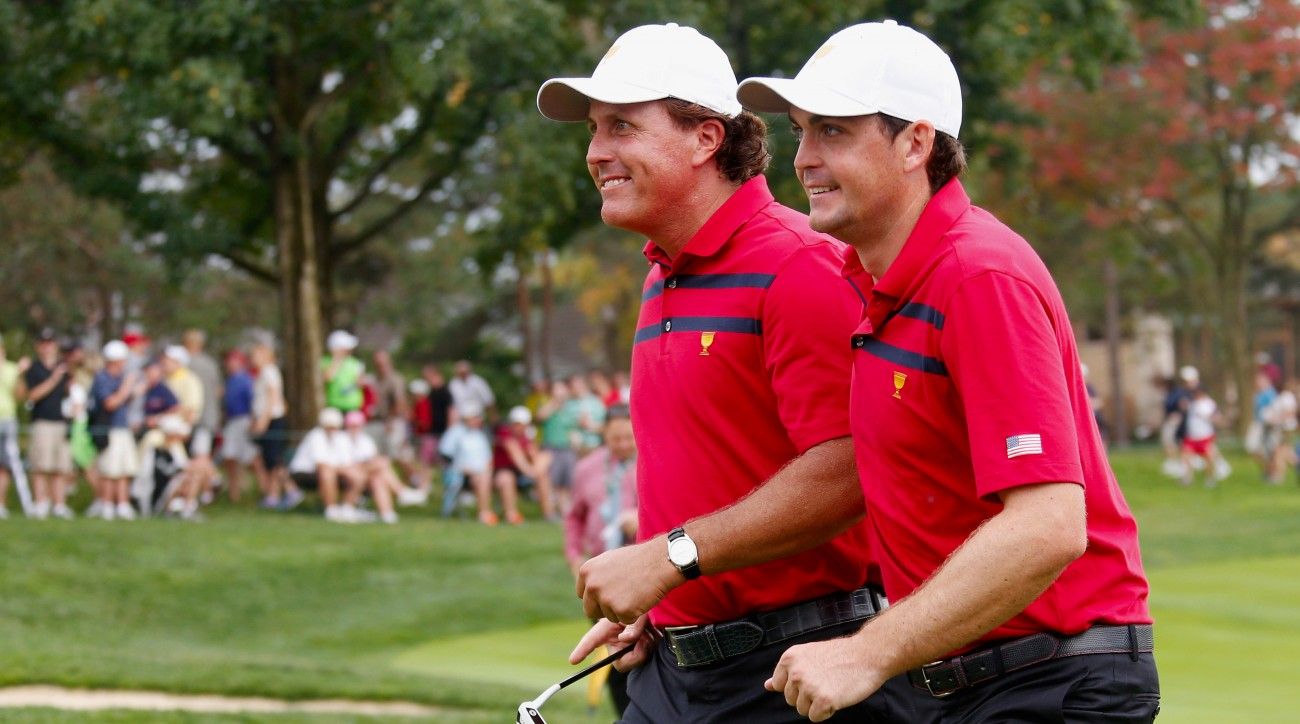 What's Phil Mickelson's favorite story from his legendary Tuesday game? It involves Keegan Bradley.