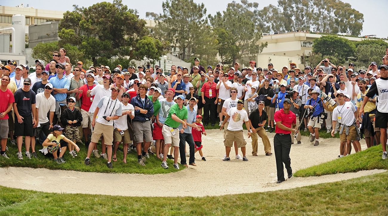 Tiger Woods won the 2008 U.S. Open after a 19-hole playoff bout with Rocco Mediate.