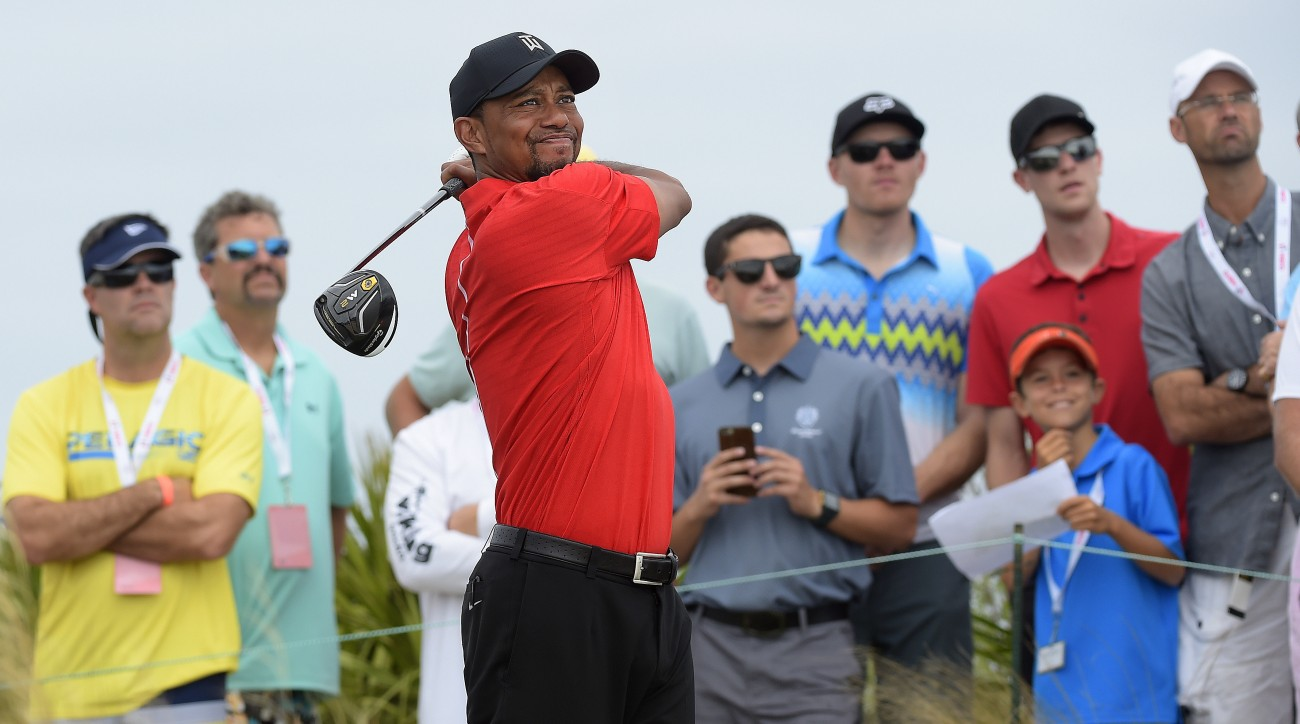 Tiger Woods announced a deal with TaylorMade on Wednesday morning.