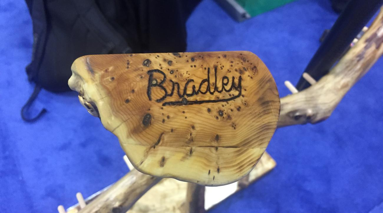 All Bradley Putters are hand-crafted from a tree burl.