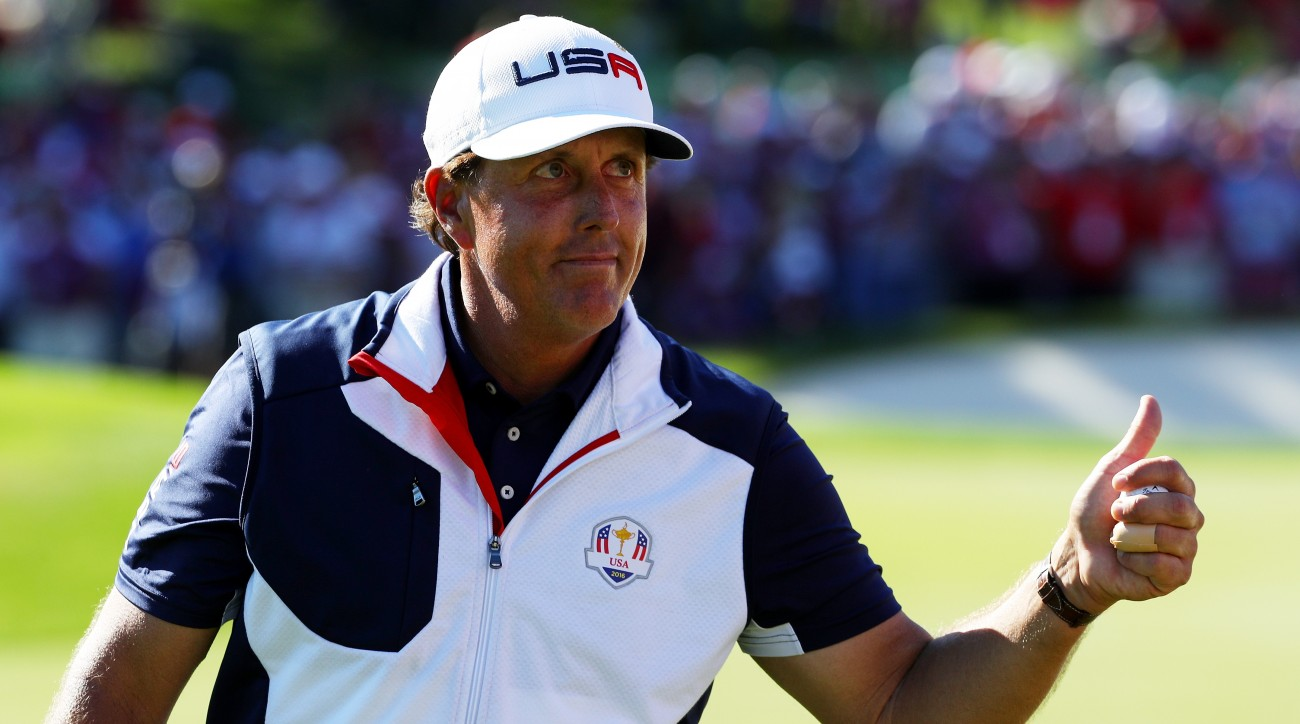 For Phil Mickelson, the best part of waking up is a personalized coffee concoction.